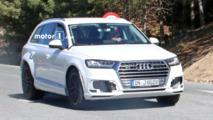 Audi Q8 test mule spy shots