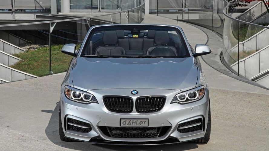 Daehler tunes the BMW M235i Convertible to 390 PS