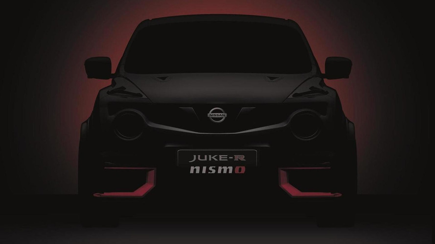 2015 Nissan Juke-R NISMO teased ahead of June 25 reveal