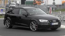 2014 Audi RS3 mule spy photo