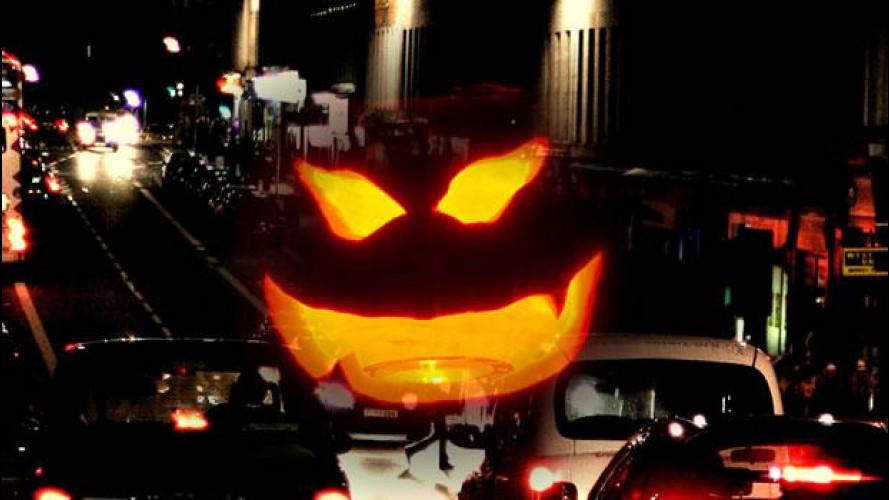 Le auto di Halloween... da ridere