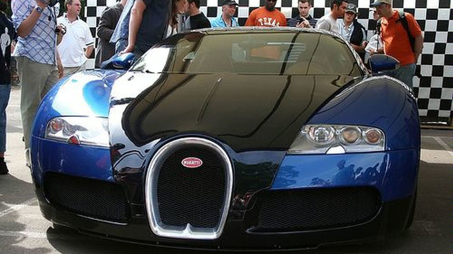 The First Crashed Bugatti Veyron