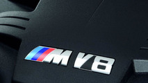 New BMW M3 4.0 liter V8 Engine