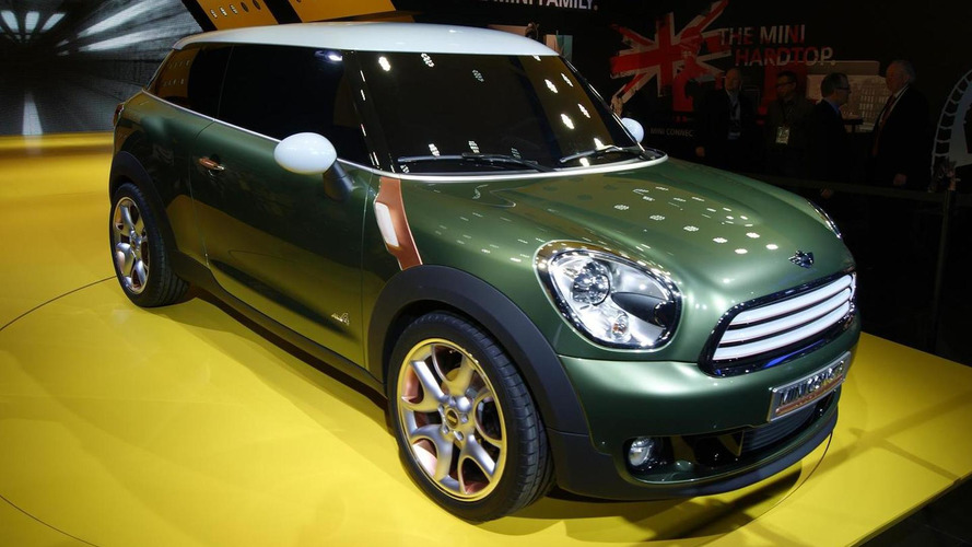 MINI Paceman Crossover concept unveiled in Detroit