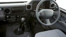 2007 Toyota LandCruiser 76 Wagon GXL interior