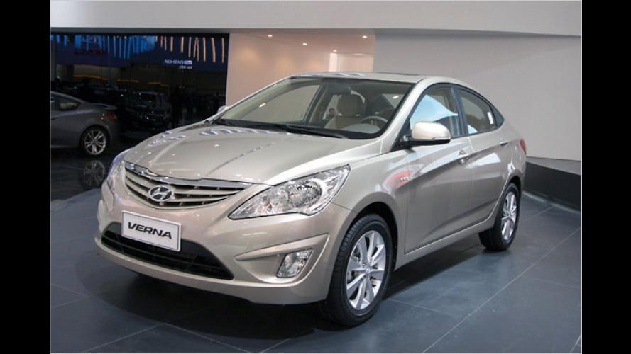 China-exklusiv: Hyundai Verna