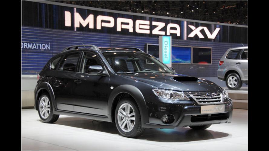 Subaru Impreza XV: Auffallende Abkürzung