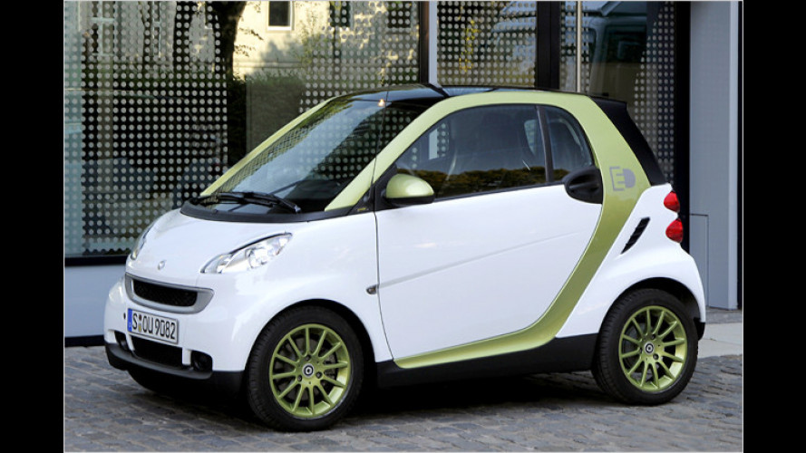 Elektro-Smart wird ab 2012 in Großserie gebaut