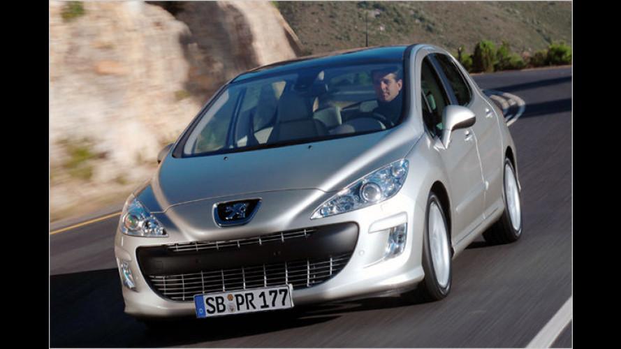 Auf dem richtigen Weg: Der Peugeot 308 Navteq on Board