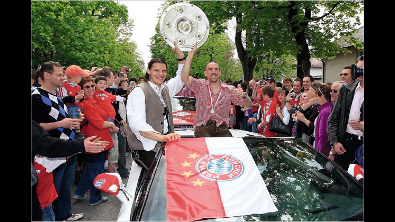 Daniel van Buyten und Franck Ribéry