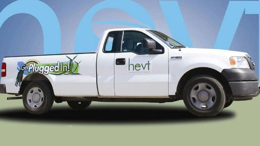HEVT Creates Ford F-150 Plug-In Hybrid Pickup Truck