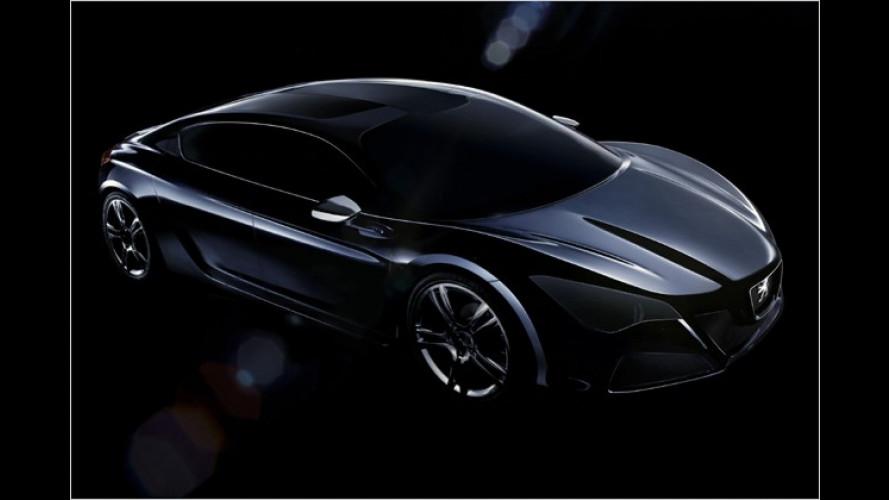 Anonyme Schönheit: Peugeot zeigt erste Bilder des ,RC ...