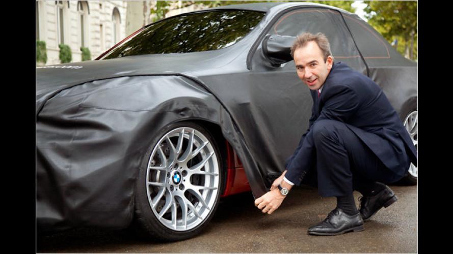 BMW 1er M Coupé: Stück für Stück entblättert