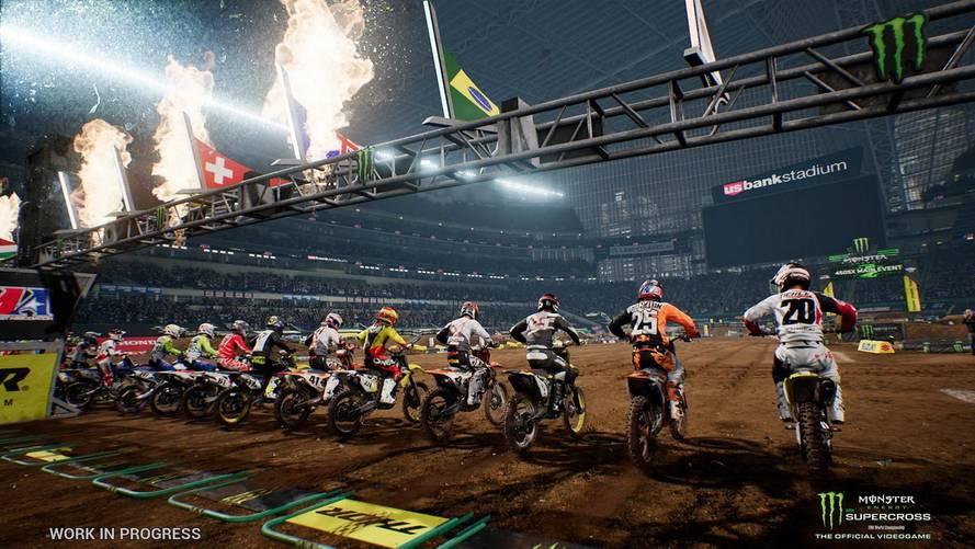 Espectacular tráiler del nuevo videojuego Monster Energy Supercross