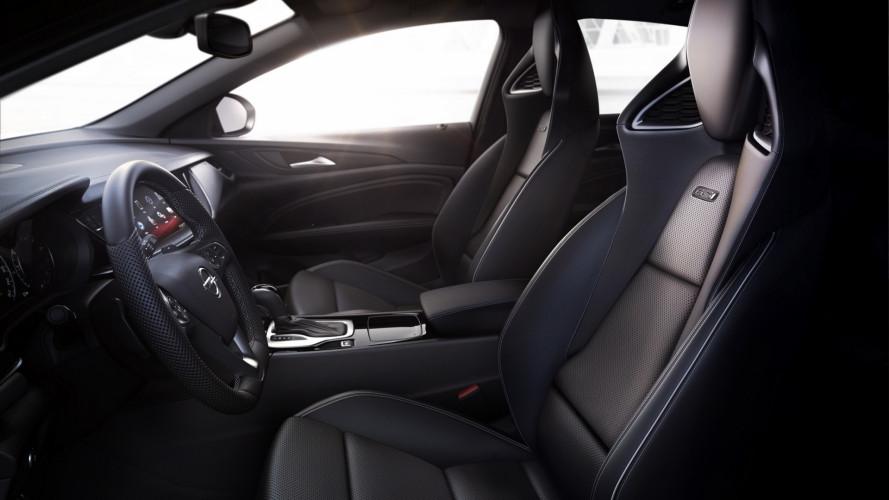 Opel Insignia GSi, i sedili sportivi certificati AGR