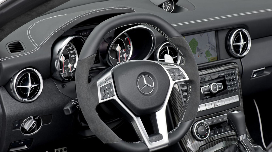 2012 Mercedes SLK55 AMG unveiled [videos]