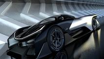 Faraday Future FFZERO1 visits CES to show Batmobile styling