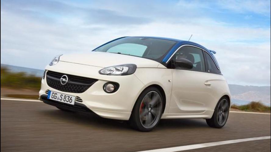 Opel Adam S, piccola al peperoncino