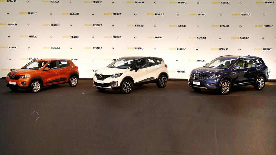 Renault Kwid, Captur, Koleos pour le Brazil