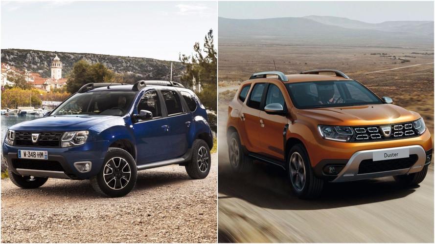 Comparamos el Dacia Duster 2018 con su antecesor