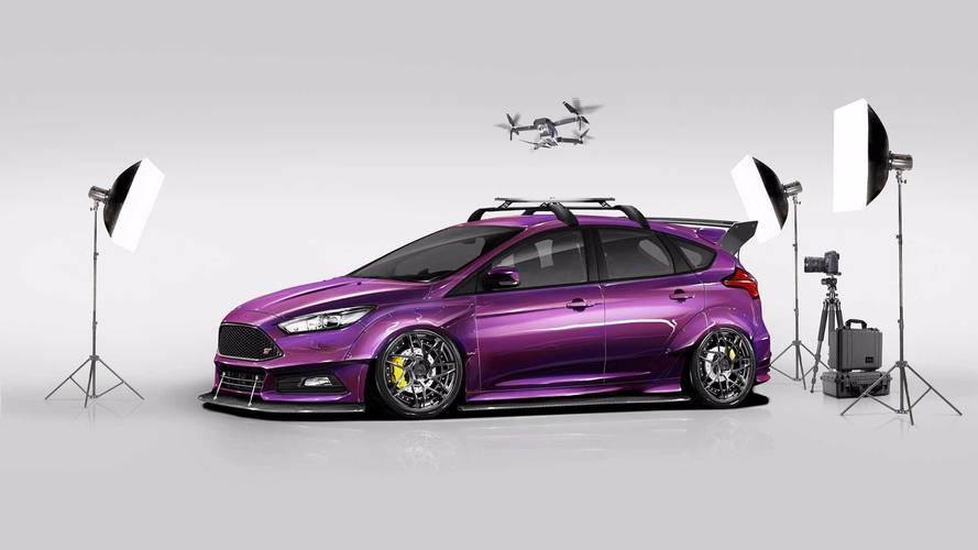 Ford Focus RS, ST Models Get Tuner Treatment For SEMA Show