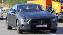 2018 Mercedes CLS new spy photos with lightly disguised prototype