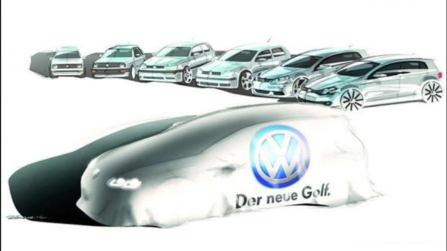 Volkswagen Golf 7: il primo video di presentazione