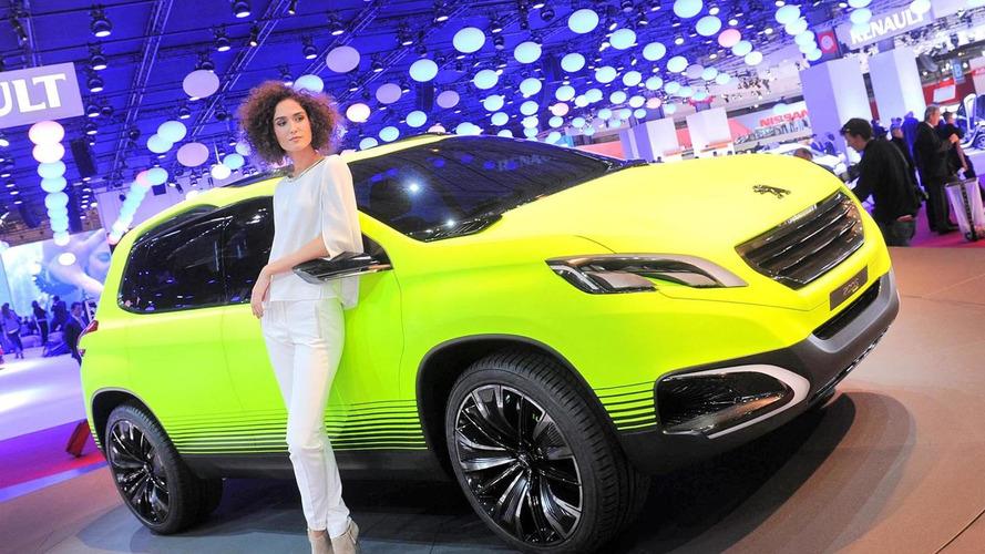 Peugeot 2008 concept unveiled in Paris