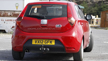 2013 MG 3 facelift spy photo 26.7.2012