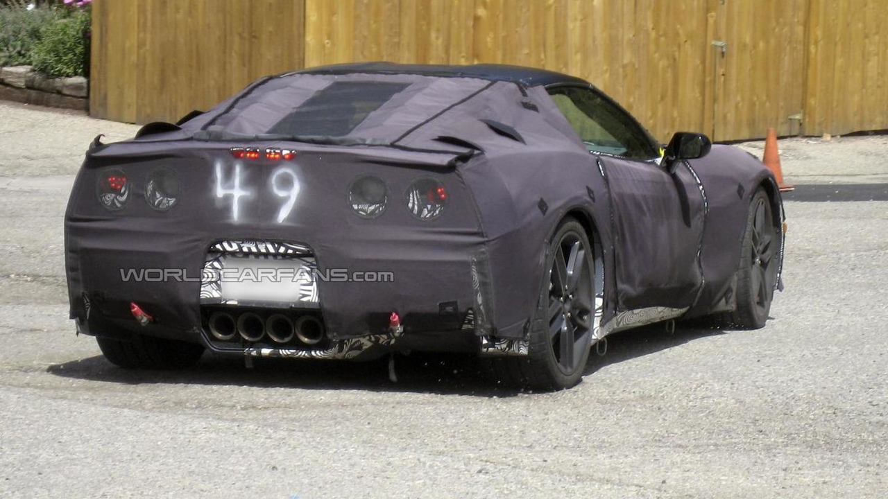 2014 Chevrolet Corvette spy photo 18.9.2012 / Automedia
