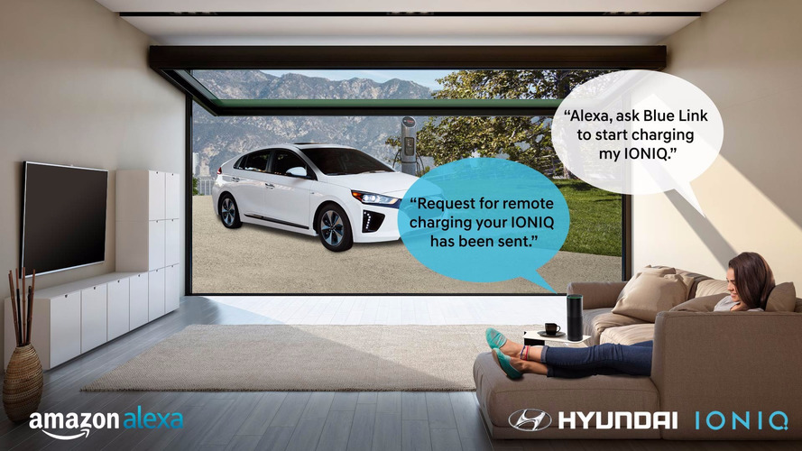 Now You Can Talk To Your Hyundai – Via Amazon Alexa
