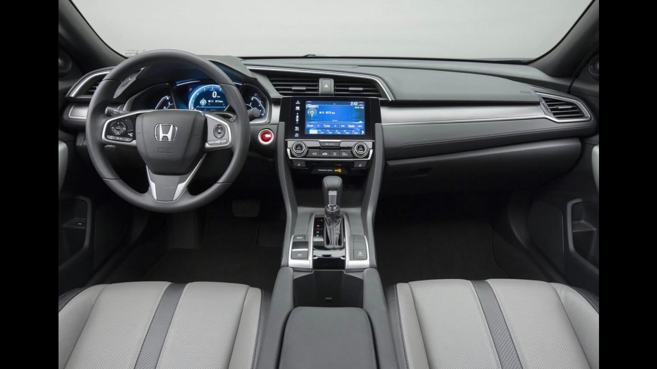 Honda mostra novo Civic Coupé e confirma Si, Type-R e versão 5 portas