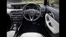 Veja as primeiras fotos internas do novo Infiniti Q30, rival de Série 1 e A3