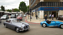 Bristol Cars showroom in London's Kensington High Street