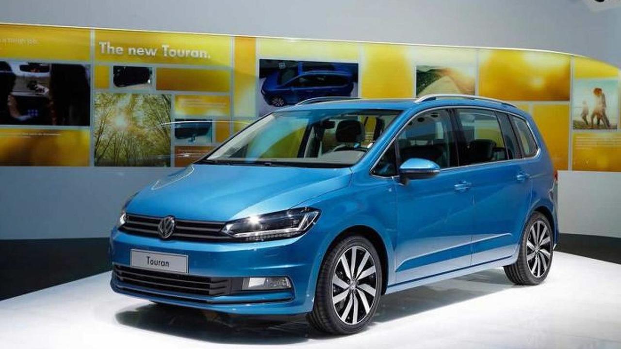 2015 Volkswagen Touran at 2015 Geneva Motor Show