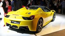 Ferrari 458 Spider live debut in Maranello 08.09.2011