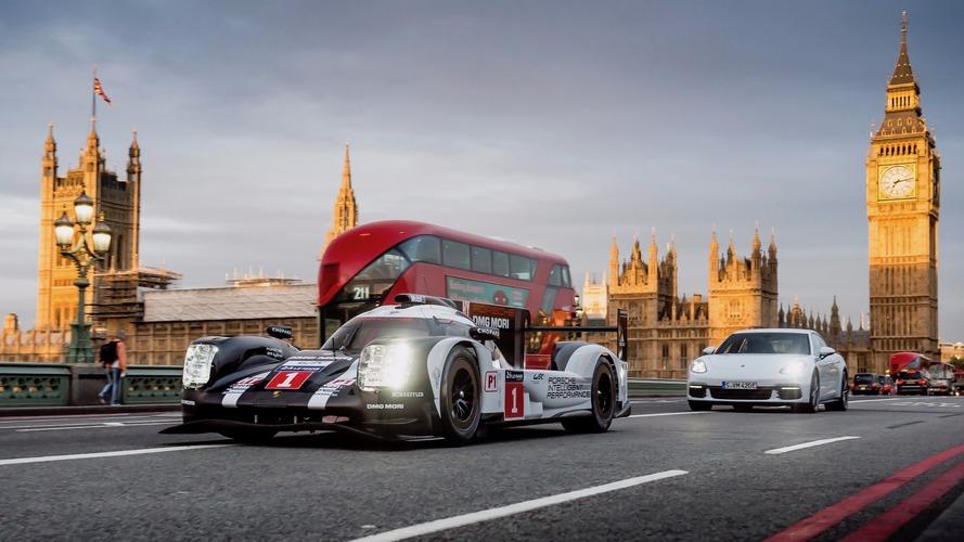 Porsche 919, Panamera E-Hybrid hit the streets