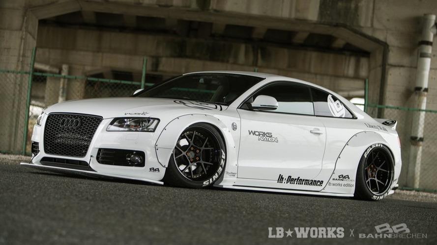 L'Audi A5 revue par Liberty Walk