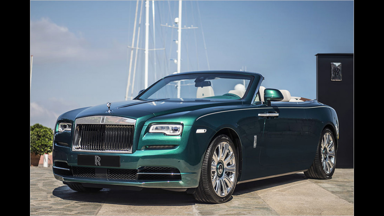 Rolls-Royce Dawn inspired by Porto Cervo