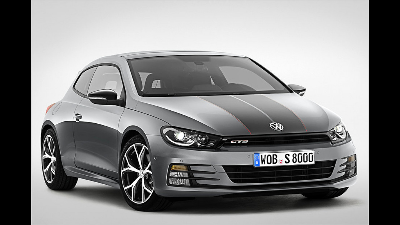 VW Scirocco GTS: Wüster Wind