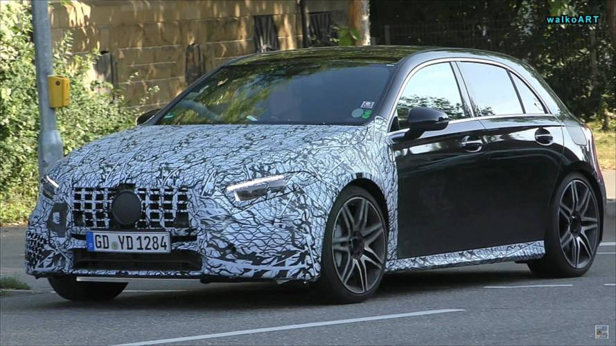 Right-Hand-Drive Mercedes-AMG A45 Prototype Spotted