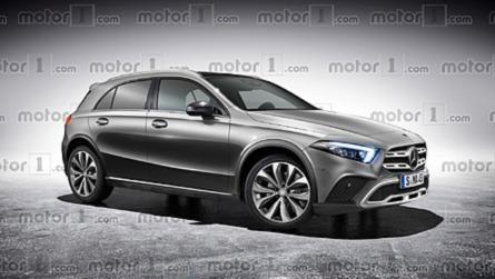 Así podría ser el futuro Mercedes-Benz GLA 2019