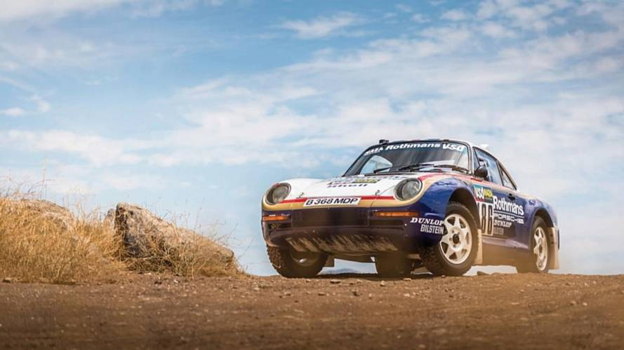 Un Porsche 959 del París-Dakar, a subasta