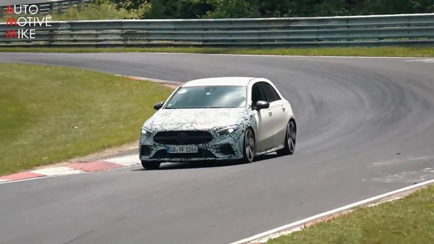 Mercedes-AMG A35 Nürburgring'de turlarken görüldü