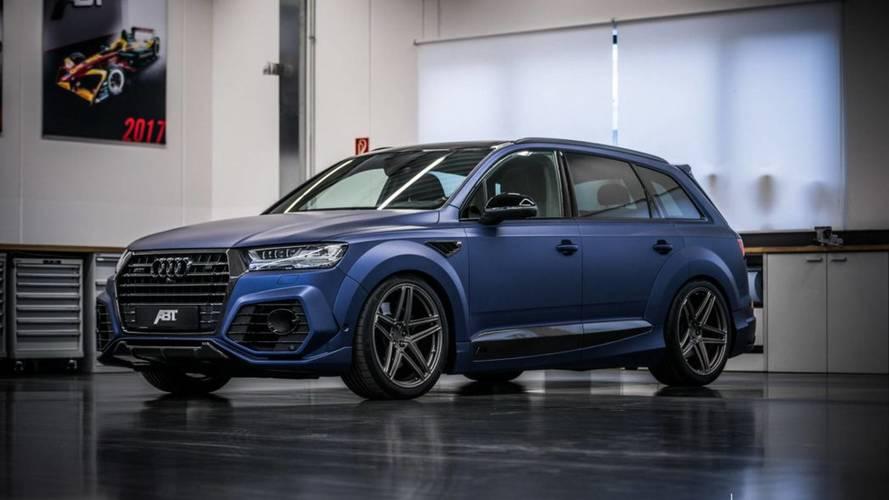 No te pierdas la preparación de ABT sobre el Audi SQ7 2018