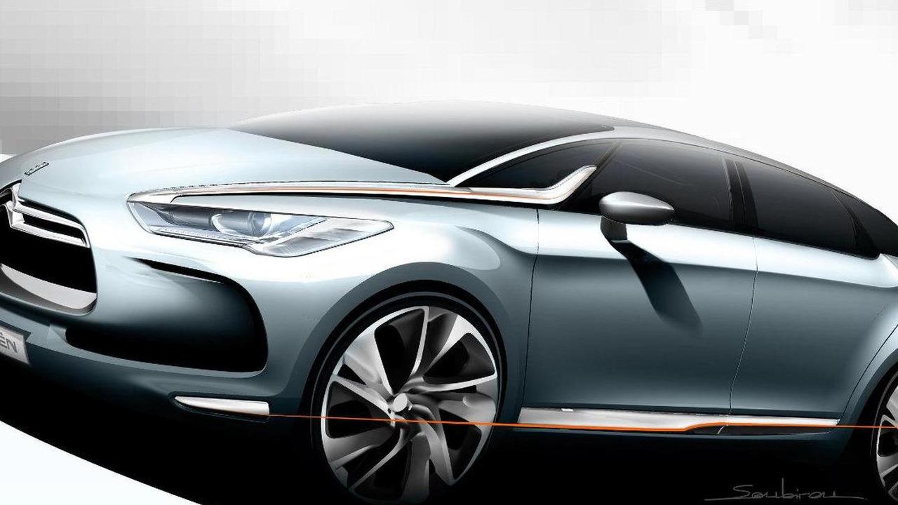 Citroën DS5 design sketch