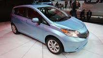 2014 Nissan Versa Note live in Detroit 15.01.2013