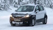 Renault Scenic Cross spy photo 17.12.2012 / Automedia