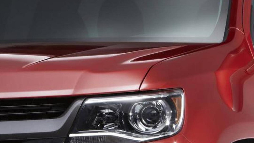 2015 Chevrolet Colorado teased yet again?