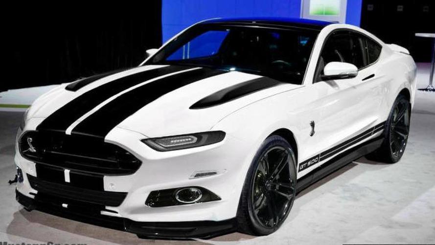 Menacing 2015 Shelby GT500 rendered